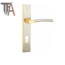 Hot Sales European Lever Handle on Plate