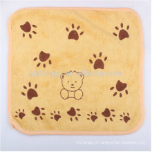 Toalha de bebê macio de alta absorção, toalha de mão do bebê, toalhas de mão de crianças