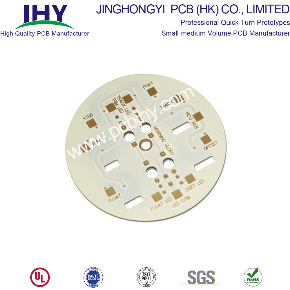 Single Layer Round Bulb LED PCB