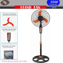 16 polegadas Piso Permanente Fan-com base redonda mais leve