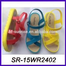 Sandalia de sandalia de la luz sandalia de la sandalia del verano de las mujeres hecho en China