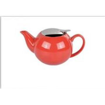 Pot de thé en porcelaine émaillée antique chinoise