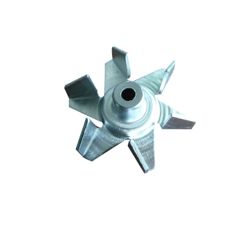 Rotor de fundição de lâmina de ventilador de fábrica personalizado alumínio
