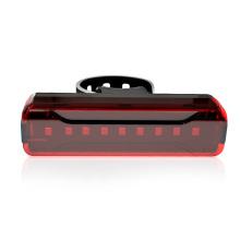 Luz de cola de bicicleta de montar recargable visible USB