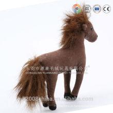 Brinquedos de cavalo de pelúcia mecânico OEM / ODM movendo animado cavalo de pelúcia