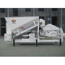 MINI mobile concrete mixing batch plant ready mixed