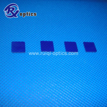 50mm square blue optical glass filter QB21