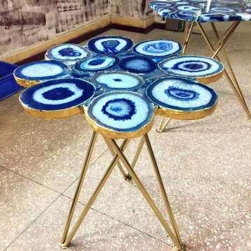 столешница из синего агата