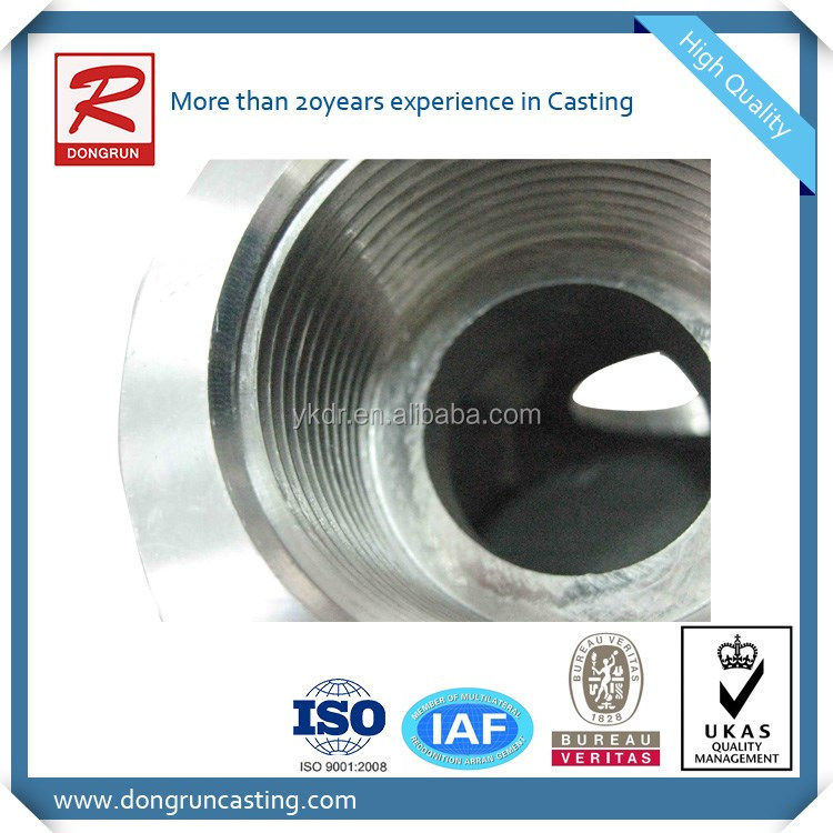 China high quality Aluminum Gravity Die Casting with CNC machining casting parts