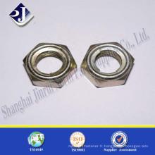 Expédition à partir de Chine Hot Sale DIN985 Noix de coupe en nylon de catégorie 8