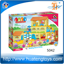 2016 new ABS plastic villy cube building block toy for children