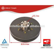 YUCHAI engine YC6J crankshaft pulley J3600-1005030C