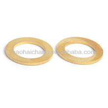 Piezas de torno CNC de precisión de latón HHC