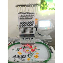 Single Head 12 Needle Embroidery Machine with Factory Price