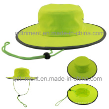 100% Polyester Microfibre Outdoor Leisure Fisherman Bucket Hat (TMBH0705)