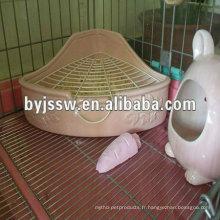 cage de rat pour animaux de compagnie en acier inoxydable