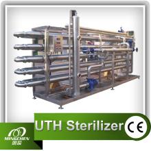 Stérilisateur tubulaire de boisson de 5000L / hr fait de SUS304