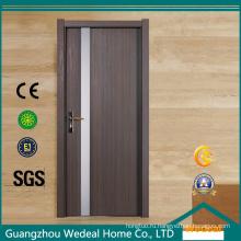 Интерьер высокого качества двери WPC деревянная пластичная составная дверь