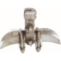 Suspension clamps electric line insulator end accessories ACSR clamp power transmission line tower utility pole hardware fitting