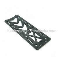 Zangão profissional 3K Twill / Plain Matte / folha de fibra de carbono brilhante, peças CNC