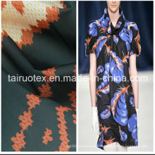 Microfiber Polyester Pongee with Printed for Women Cloths Fabric