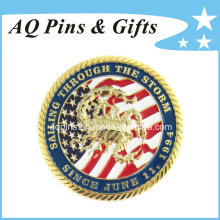 Custom Promotion Commemorative Gold Coins (coin-073)