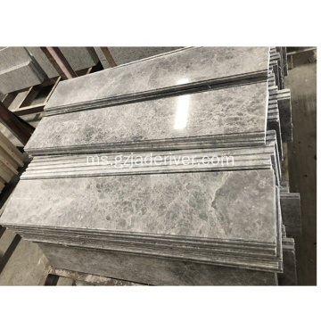 Tundra Gray Marble Flooring Skirting Window Window