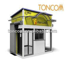Kiosque de plein air en plein air
