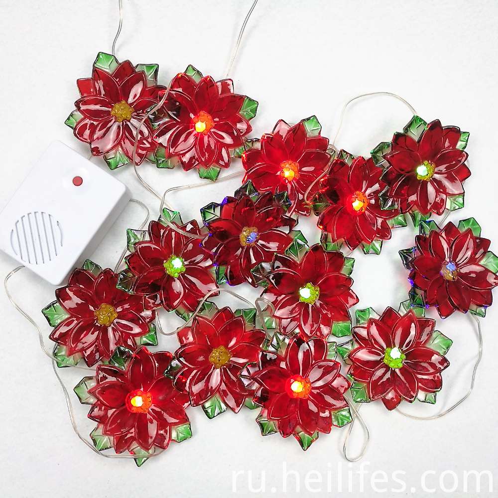 Christmas LED flowers