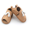 Speciale lederen Fish mouth Baby Kids sandalen