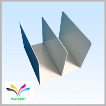 Clasificar en forma de tablero de metal Top Bookends Biblioteca para Organizador