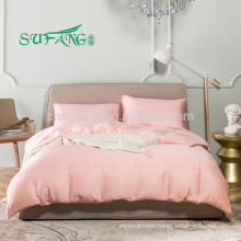2018 new supplier bamboo fabric bedding set