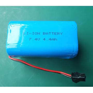 7.4V portable battery pack with protection