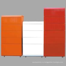 Высокий глянцевый цвет шкафа деревянный комод деревянный корпус
