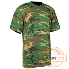 O t-shirt militar cumpre a norma ISO