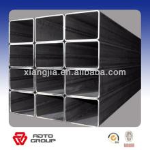 Pile en acier carrée galvanisée / section creuse / tuyau rectangulaire