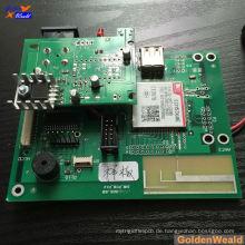 Shenzhen PCB Assembly Hersteller mit kleinen BGA in Red Solder Maske Board für EMS-Service Haarglätter pcb Montage