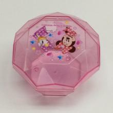 Kunststoff einfache Disney Schmuck Aufbewahrungsbox