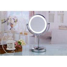 Espejo de la luz de la vanidad espejo de pie del escritorio del espejo del LED