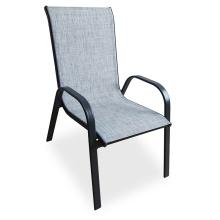 Outdoor Garden Balcony Metal Sling Chair Garden Stackable Chairs