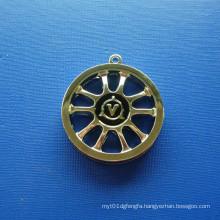 Shaft Wheel Gold Plating Medal, Custom Medal (GZHY-BADGE-007)