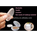 Good quality clear silicone sponge make up cosmetic sponge