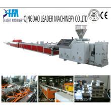 PVC/WPC Plastic Window Profile Making Machine Production Extrusion Line