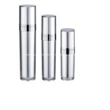 Aluminium kosmetische Lotion Airless Pump Flasche und Glas