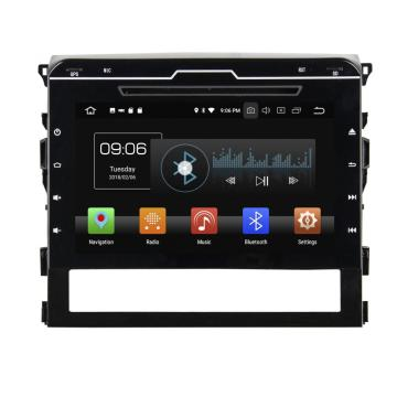 Android 8.0 car audiosysteem voor Land Cruiser 2016 met parrot bluetooth
