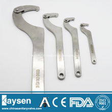 Sanitary DIN and SMS Spanner Wrenches