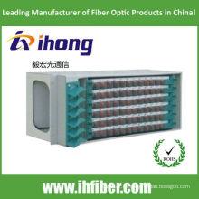 Caja de montaje en rack ODF caja de terminación de fibra 72 puerto
