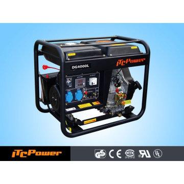 3kVA ITC-POWER open frame Diesel Generator home