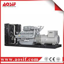 Generador de 1600KW / 2000KVA 50hz con el motor de perkins 4016TAG2A hecho en Reino Unido