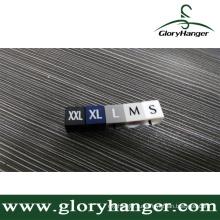 Пластиковый вешалка для модного магазина (GLPZ017)